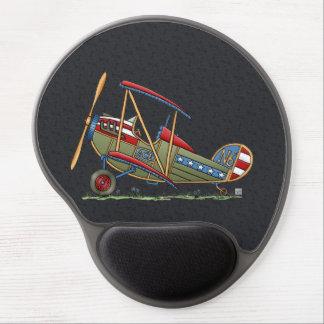 Cute Biplane Gel Mouse Mat