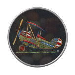 Cute Biplane Jelly Belly Tin