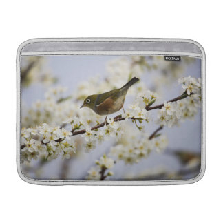 Cute Bird and Cherry Blossom Sleeve For MacBook Air