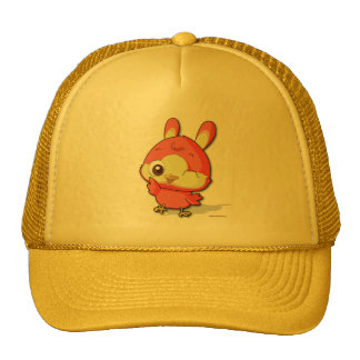 Cute Bird Cartoon Character Hat Funny Baseball Cap