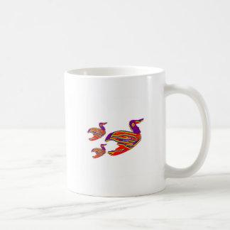 Cute Bird Family : Happy Decorative Art Mug