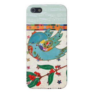 Cute bird flying and singing cases for iPhone 5