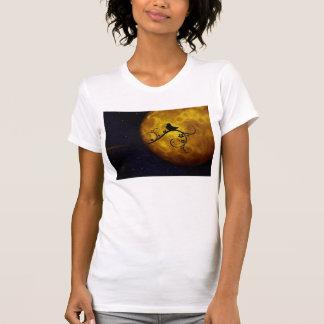 Cute Bird in the Moonlight T Shirt