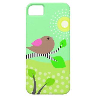 Cute Bird & Sun iPhone 5 Cases