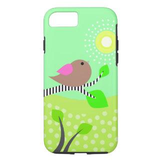 Cute Bird & Sun iPhone 7 Case