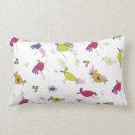 Cute Bird throw pillow Throw Pillow