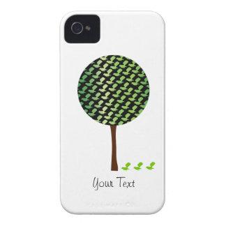 Cute Bird Tree Case Blackberry Case