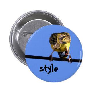 Cute Birdie Button