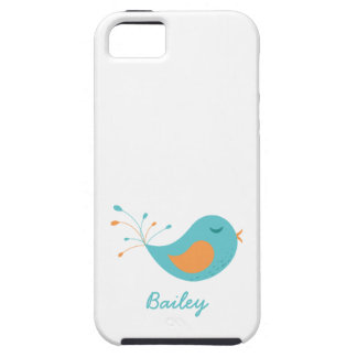 Cute Birdie with Personalized Name iPhone SE/5/5s Case