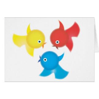 Cute Birdies Cards