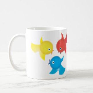 Cute Birdies Coffee Cup Coffee Mug