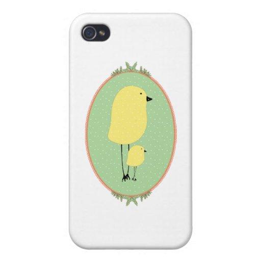 cute birdies iPhone 4 cover