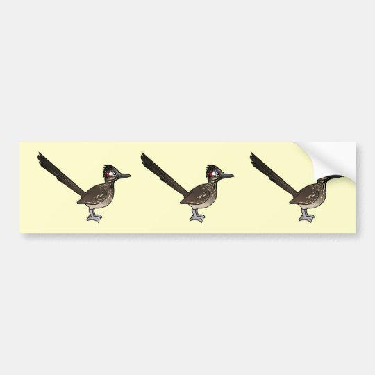 Cute Birdorable Roadrunner Bumper Sticker