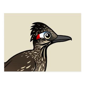 Cute Birdorable Roadrunner Post Card