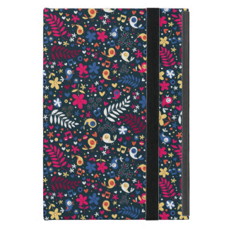 cute birds and flowers pattern covers for iPad mini