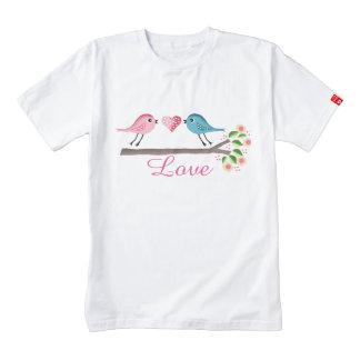 cute birds baby zazzle HEART T-Shirt