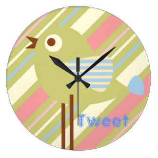 Cute Birds Clock