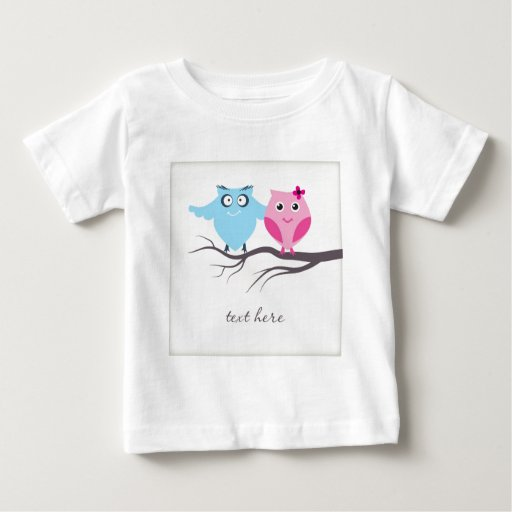 Cute birds couple in love t-shirts