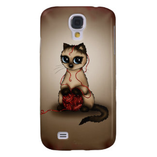 cute Birman cat Samsung Galaxy S4 Cover