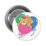 Cute Birthday Balloon Bear Pin