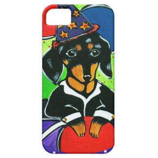 Cute Birthday Dachshund iPhone SE/5/5s Case