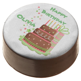 Cute Birthday Images Personalized Chocolate Covered Oreo