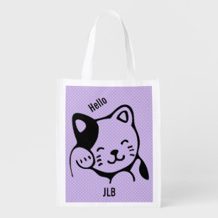 842e547dd5f Cute Black Kitten Bags | Zazzle