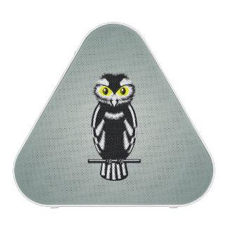 Cute Black and White Owl Bluetooth Speaker