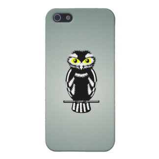 Cute Black and White Owl iPhone SE/5/5s Case