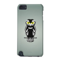 Cute Black and White Owl iPod Touch 5G Cover