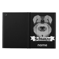 Powis iPad Air 2 Case with Miniature Schnauzer Phone Cases design