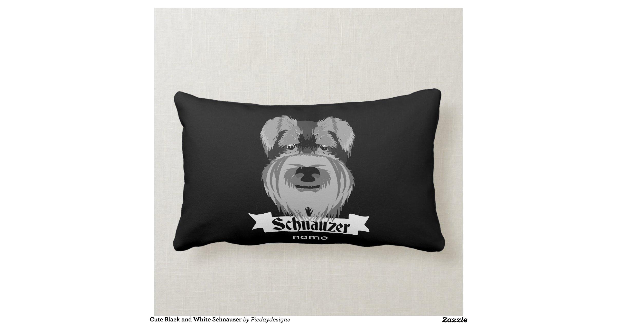 Cute Black Pillows : cute_black_and_white_schnauzer_throw_pillow-ra1a1a7d7fade40bbb0f340aebbeab2d5_2i4t2_8byvr_1200 ...
