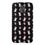 Cute black baby bunny easter pattern case for galaxy s5
