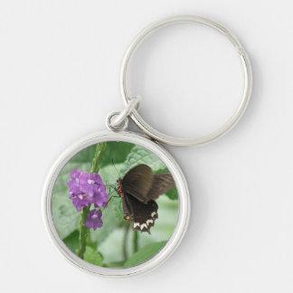 Cute Black Butterfly Keychain