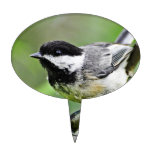 Cute Black Capped Chickadee Cake Toppers