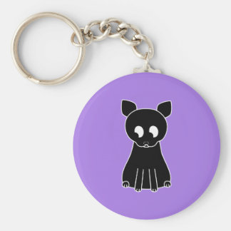 Cute Black Cat Keychains