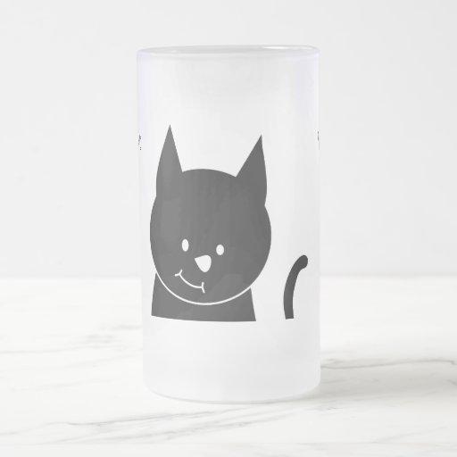 Cute Black Cat Mug