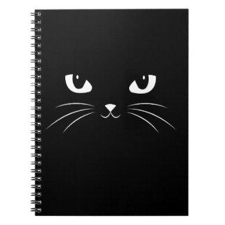 Cute Black Cat Note Book