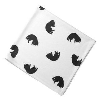 CUTE Black Cat Pattern Bandana