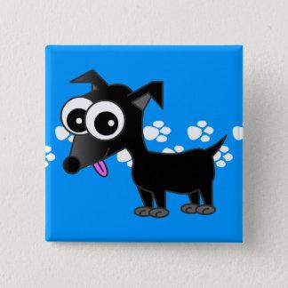 Cute Black Chihuahua Pin