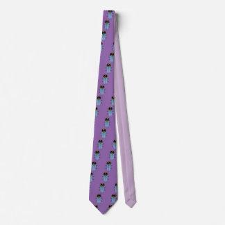 Cute Black Cicada Neck Tie