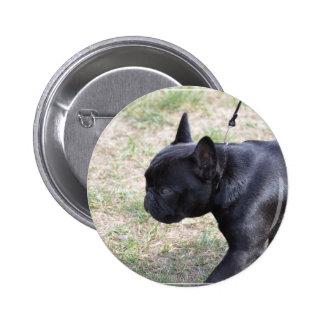 Cute Black French Bulldog Pin
