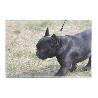 Cute Black French Bulldog Laminated Place Mat