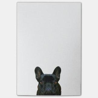 Cute Black French Bulldog Photograph Post-it® Notes