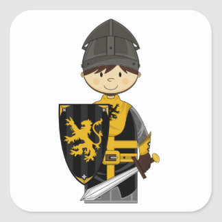 Cute Black Knight Sticker