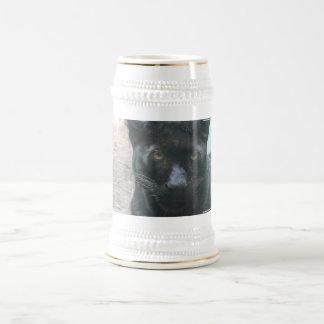 Cute Black Panther Beer Stein 18 Oz Beer Stein