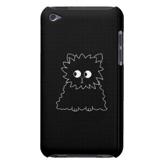 Cute Black Persian Cat. iPod Touch Case-Mate Case