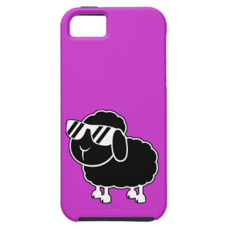 Cute Black Sheep Cartoon iPhone SE/5/5s Case