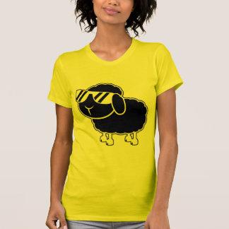 Cute Black Sheep Cartoon T Shirt