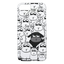 Cute black sheep iPhone 7 case